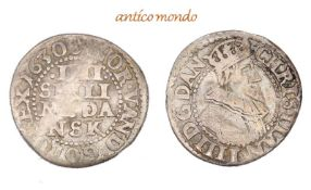 Dänemark, Christian IV., 1588-1648, 4 Skilling, 1630, fast sehr schön- - -21.50 % buyer's premium on
