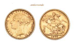 Australien, Victoria, 1837-1901, Sovereign, 1879, sehr schön, 8 g- - -21.50 % buyer's premium on the