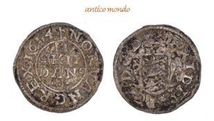 Dänemark, Frederik III., 1648-1670, 2 Skilling, 1654, sehr schön, 1,07 g- - -21.50 % buyer's premium