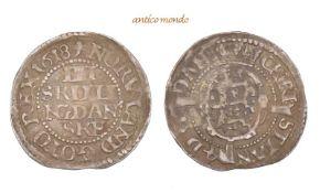 Dänemark, Christian IV., 1588-1648, 4 Skilling, 1618, sehr schön-vorzüglich, 2,04 g- - -21.50 %