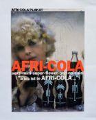 Afri Cola Plakat 70er Jahre, 60x84 cm, Z 1-