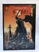 "2 Comic Plakate ""Morgenstern"" + ""Helben"", 70x100 cm, gerahmt, kein Versand"