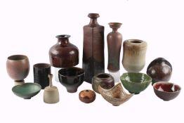 15 Künstlerkeramiken u.a. Horst Kerstan, Karl Scheid, Margarete Schott, WMF, artists pottery
