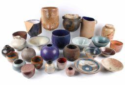 Konvolut Künstlerkeramik, artists pottery ceramic,