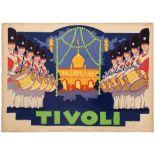 Advertising Poster Tivoli Garden Copenhagen Youth Guard Boys Thor Bogelund