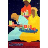 Advertising Poster Lignose Three Kings Art Deco Beauty Products
