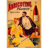 Advertising Poster Abricotine Liqueur Belle Epoque