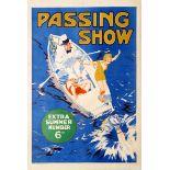 Advertising Poster Passing Show Gilbert Wilkinson