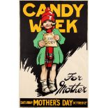 Advertising Poster Candy Week For Mother Mary Tunbridge