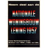 Advertising Poster Housing Loan Subscription Typography
