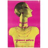 Advertising Poster Artists Jewellery Exhibition Fashion Calde Braque Delaunay Picasso
