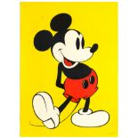 Advertising Poster Mickey Mouse Walt Disney Popart