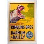 Advertising Poster Ringling Bros Barnum Bailey Circus