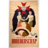 Advertising Poster International Order of Good Templars Brotherhood Broederschap