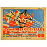 Travel Poster Poland Lwow East Fair Art Deco