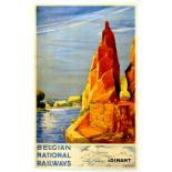 Travel Poster Belgian National Railways Dinant