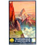 Travel Poster Telepherique Artouste Champseix