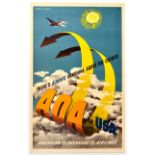 Travel Poster AOA USA Lewitt-Him There's Always Sunshine