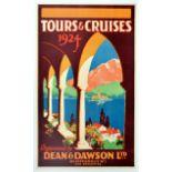 Travel Poster Dean & Dawson Tours Cruises