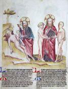 Biblia Pauperum, Die,Biblia Pauperum, Die, im Codex Palatinus Latinus 871 der BibliotheBibl