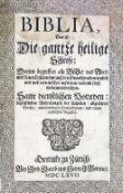 Biblia germanica.Biblia germanica. Biblia, Das ist: Die gantze heilige Schrift; DarinnBibli