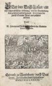 Bünting, H.Bünting, H. Itinerarium Sacrae Scripturae. Das ist, Ein Reisebuch uber dieBün