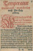 (Boltz v.Rufach,V.(Boltz v.Rufach,V. Illuminierbuch Künstlich alle Farben zumachen vnd(Bol