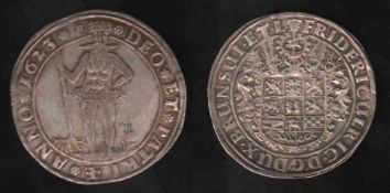 Braunschweig. Taler von 1623.Friedrich Ulrich, Herzog von Braunschweig - Lüneburg - Wolfenbüttel.