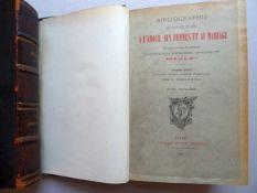 Bibliographie.- (Gay, J.) und Lemonnyer, J.