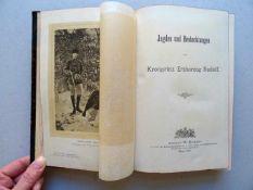 Jagd.- Rudolf, Kronprinz Erzherzog v. Österreich.