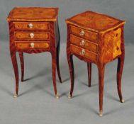 Paar Louis XV.-Pfeilerkommoden