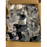250+ packs of New Socks, Wrightsock Coolmesh, Double Layer, Black/Gray/White
