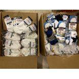 500+ packs of New Socks, Wrightsocks Various Styles, Various Colors