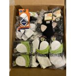 250+ packs of New Socks, Wrightsock Various Styles, Various Colors