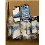 250+ packs of New Socks, Wrightsocks Running, Double Layer, White