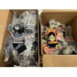 150+ packs of New Socks, Wrightsocks Coolmesh and SLC, Various Black Styles/Colors