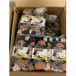 250+ packs of New Socks, Wrightsock Coolmesh, Double Layer, Gray/Brown