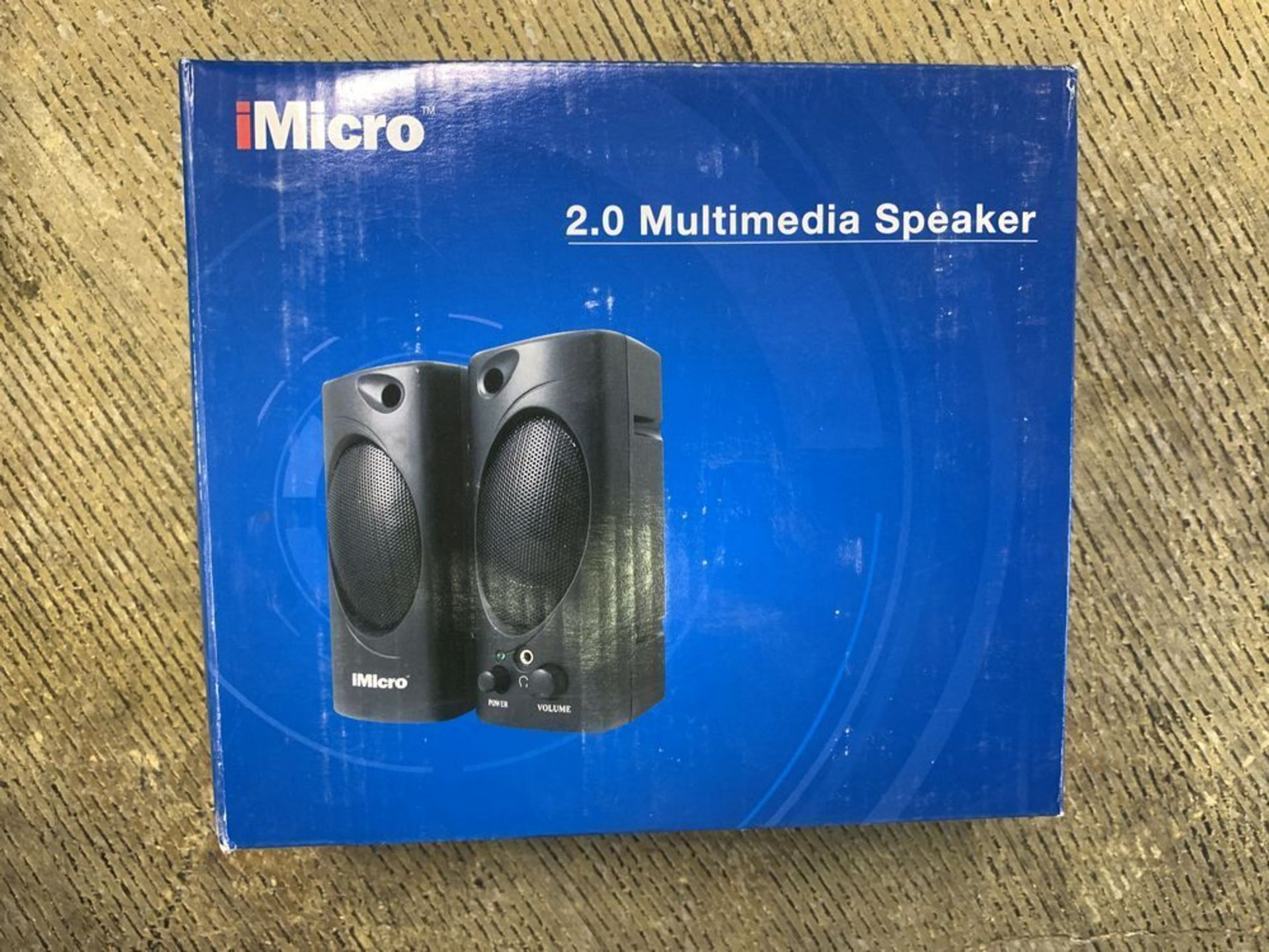 Lot 190 - LOT OF 10 IMICRO 2.0 SPEAKER SETS, NEW IN BOX
