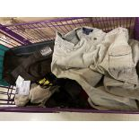 Assorted Tactical Gear Clothing, Approx 25, Various Brands/Sizes/Colors