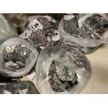 Large Lot of Blackwater Tactical Gear, Approx 250+, Medium Pouches, Packs, Amo Pouches, Camo/Green