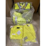 Blauer Bright Yellow Neon Safety Vests (Approx 50+), DriFire Neon Yellow Shirts (Approx 25) Utility