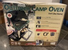 OUTDOOR CAMP OVEN SEALED IN ORIGINAL BOX