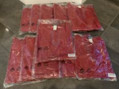 Lot of 11 Taillissime Tunic Top Red Sizes 22 and 24 NWT Women's Blouses