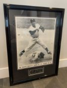 PHIL RIZUTTO NEW YORK YANKEES AUTOGRAPHED FRAMED PHOTO 30X22""