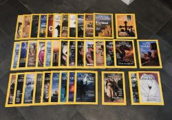 38 VINTAGE NATIONAL GEOGRAPHIC MAGAZINES