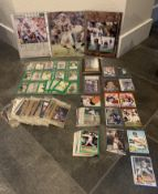 LOTS OF SOME VERY RARE COLLECTIBLE ITEMS AND CARDS DAN MARINO, WAYNE GRETZKY + MORE