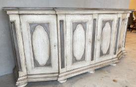 VERY ANTIQUE FRENCH STYLE BUFFET DINING UNIT WITH ORIGINAL KEYS
