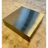 BEAUTIFUL STAINLESS BASE TABLE MODERN DECOR
