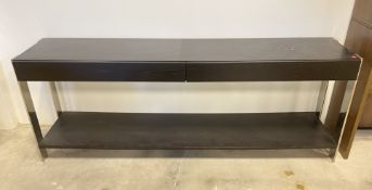 LARGE COUNTER ENTRYWAY DISPLAY TABLE