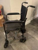 EASY TRANSPORT , FOLD UP WHEEL CHAIR , MEDICAL USE